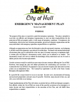 Hull Emergency Mgmt Plan April 2019